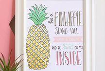 Pineapple brunch