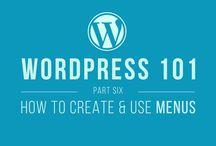 WordPress Menus / Guide to WordPress menus