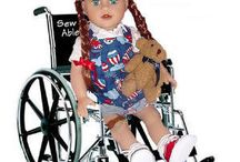 Sew Able Dolls / Sew Dolling Doll Clothes,  Furniture, and Accessories for 18 inch dolls like our Sew ABLE Play Therapy dolls and others like American Girl. / by Sew Dolling