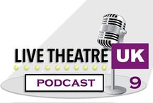 Podcasts / Our fortnightly podcasts: LiveTheatreUk - The Cocktail Hour by John Bowles and Stephen Collins.