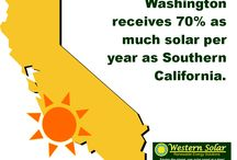 Facts About Solar in the Pacific NW / This board is your resource to facts about solar in Washington State from the leading installer of social electric systems and electric vehicle charging stations. Western Solar Inc installs in Whatcom, Skagit, Snohomish, King, and Island Counties. Have a question about solar?   Visit our website: http://www.westernsolarinc.com/ or Check out our blog: http://westernsolarinc.blogspot.com/