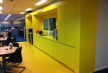 Project kantoorpand Helmond / Kantoorpand, interieur, werken
