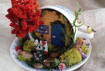 Miniature fairy world