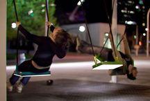 Public space, outdoor