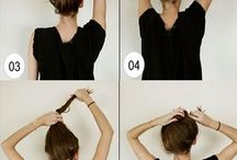 Different ways to put your hair