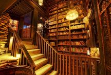 Beautiful places for books / Books
