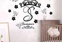 Nursery room wall decor ideas