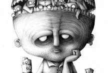 Monsters / doodles