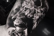 lion tattoos sleeve