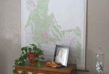Maps, frames