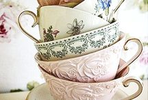 Pretty cups and mugs