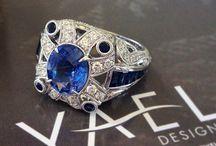 Sapphire Blues / All shades of blue corundum fine jewelry