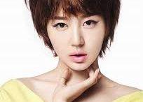 Asian Short Dark Haircut for Women