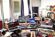 Music production spaces.