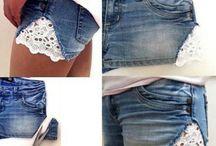 Kleidung aufpäppeln