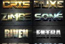 лого шрифт