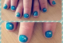 Shellac by Shellie / My own Shellac nails, experimenting with different designs, colours and nail art