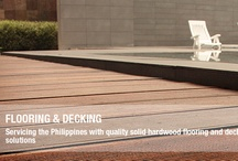 Flooring & Decking / Supplying Philippines with quality solid hardwood flooring and decking for all requirements.