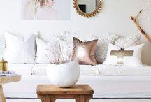 weiße Wohnzimmer