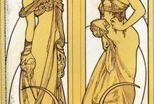 Alfons Maria Mucha / pictor Art Nouveau ceh, din regiunea Moravia, de departe cel mai reprezentativ artist art nouveau al Cehiei