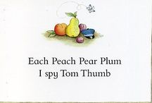 Each Peach Pear Plum Activities