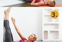 legs up wall for toning