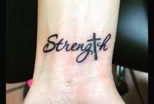 Caroline'a tattoos