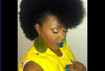 """Fierce Fros / Get Inspiration for Natural Hair Styles. Looking for Real Plant Based Care Hair. Browse Our Etsy Shop. Promo Code: """"Fros"""" 20% off http://bit.ly/shopindigofera"""