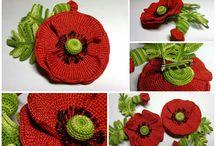 Crochet - flowers...