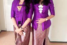 Fashion design / Kebaya Kutu Baru