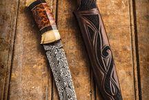 Knivmakeri och läderarbete