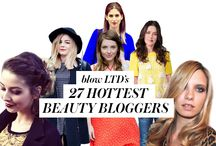 27 Most Powerful #bbloggers in the UK / We present our round-up of the top 27 beauty bloggers in the UK, ranked with stats from Twitter, Instagram and Facebook and our own Fast Beauty score!