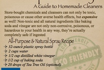 Home Clean and Body Care / by Trinity School of Natural Health
