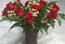 Valentine Arrangements / Vickies Flowers past and present Valentines Day flowers