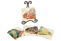 ACCENT***FISH DECOR / FOR CRAFT'S AND DECORATING / by KATHY BISHOFF ' HOMOLASH