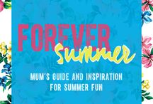 FOREVER SUMMER / OshKosh Forever Summer – The Australian Mum's Guide to Summer Fun. Get inspired, have fun and share your memories with us!