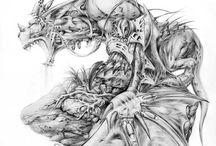 Ilustrace tužka