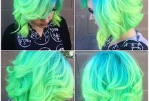 Cool hair / Color, cut, and style