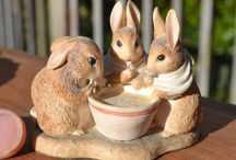 Flopsy mopsy and cottontail and bowl