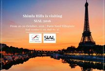 SIAL 2016, Paris-World's no. 1 Food Innovation Exhibition. / SIAL 2016, the world's largest food innovation exhibition, is one such platform that inspires food businesses around the globe. Shimla Hills, one of the leading and trusted name in the agro-products industry, is participating in SIAL Paris and will be showcasing its wide range of products. MEET US AT SIAL PARIS ON 16-20 OCTOBER 2016! Stall number G 158, Hall No. 5C (Beverage Section) Venue: Parc des Expositions de Paris-Nord Villepinte 82 Avenue des Nations 93420 Villepinte France