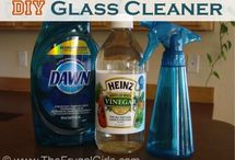 Homemade Household Cleaner Recipes / Save money and keep it green with these earth-friendly homemade cleaner recipes.