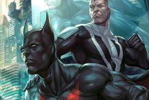 Universo DC animado e HQ