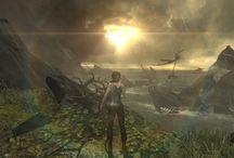 Games' screen / Screen de jeux vidéo