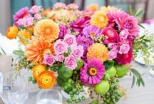 .. Bright Flowers .. / Bright wedding flowers for inspiration.   / by Botanica Events