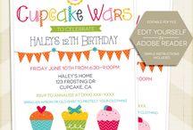Cupcake Wars birthday