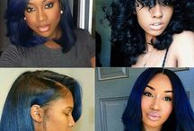 coiffure bleu