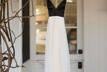Black and white party- dresses