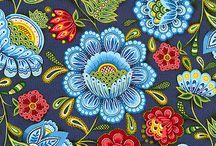 Craft - Folk Art / traditional floral design