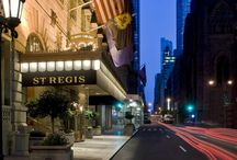 The St. Regis is second to none. / With a refined atmosphere, extraordinary service that includes butlers on call 24-hours, Clefs d'Or concierges, a signature bath menu, gorgeous guest rooms, a great Fifth Avenue location (the better for shopping), and a stunning Beaux Arts lobby.