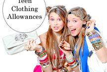Clothing Allowances: Teens